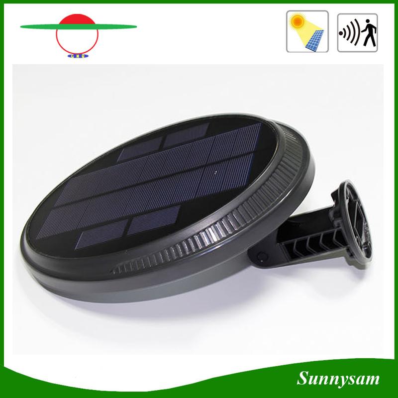 Rotatable Angle 56 LED Solar Motion Sensor Light for Wall