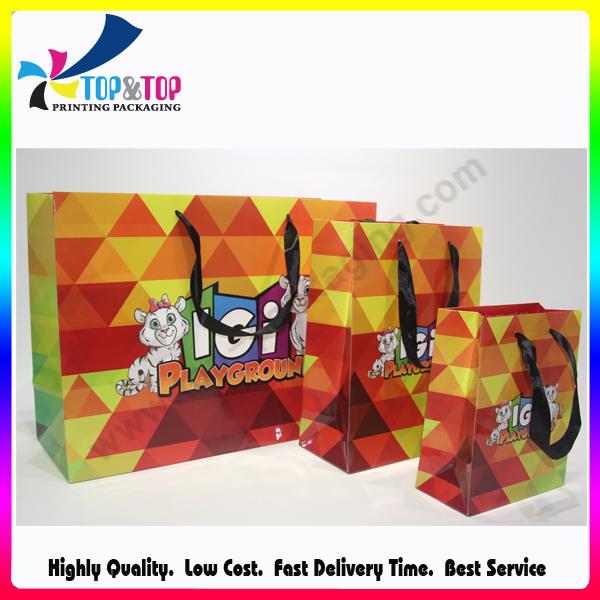 Wholesale Fancy Handmade Shopping Paper Bag for Gift