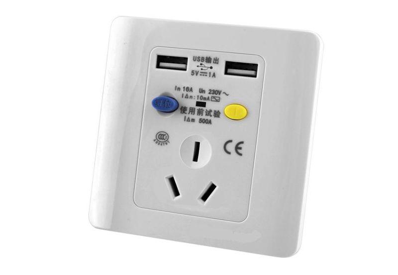 GFCI Receptacle Input Voltage AC110V-250V Suit