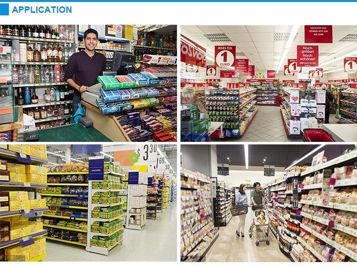 Supermarkets Floor Paper Cardboard Exhibition Stand Retail Display Rack