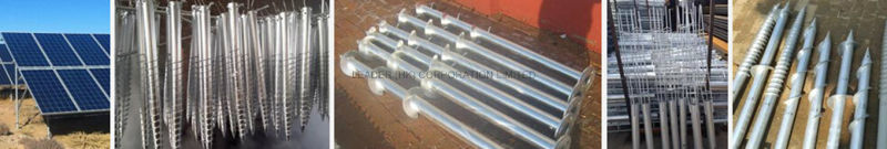 PV Mounting HDG or Power Coated Ground Scrow, Helix Ground Screw