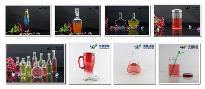 100ml Square Wine Glass Bottle Liqor Glass Bottle Spriit Bottle