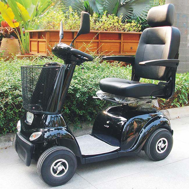 4 Wheels Mobility Scooter for Elderly and Disabled (DL24500-2)
