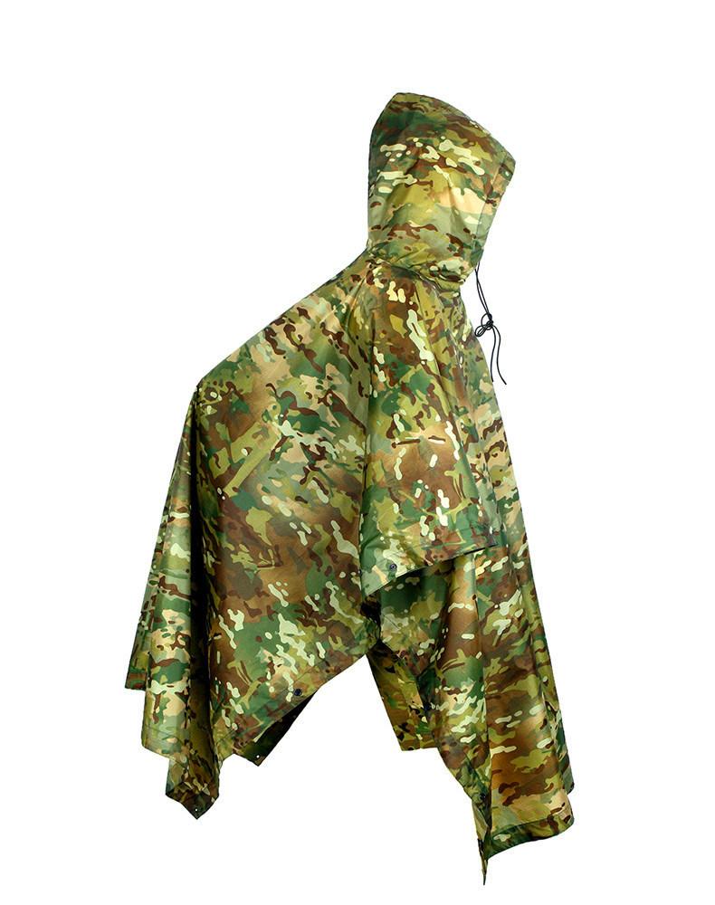 Multifunctional Military Tactical Traning Sports Travel Camping Raincoat