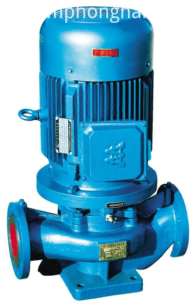 ISG series water pump vertical centrifugal pumps