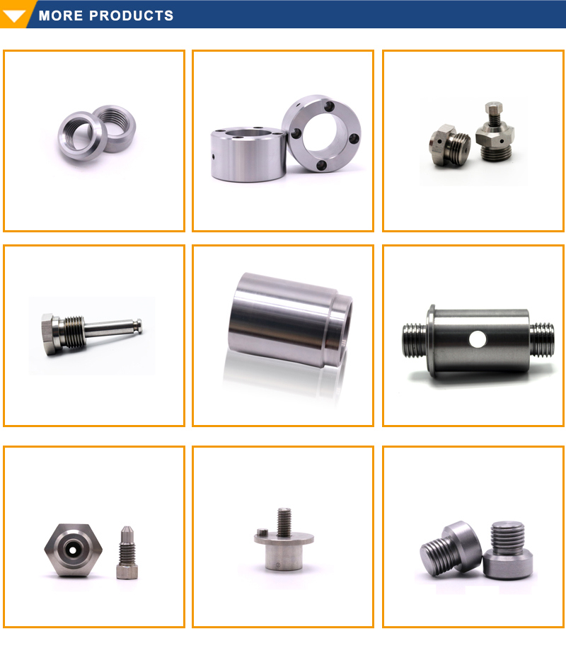 Customized Precision Turning Drawing Machined Thread Galvanized CNC Part