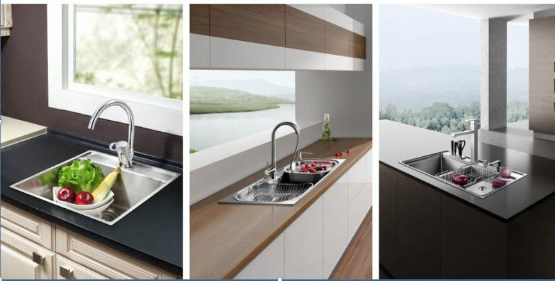 Wall Mounted Sanitary Ware Kitchen Sink Faucet Mixer