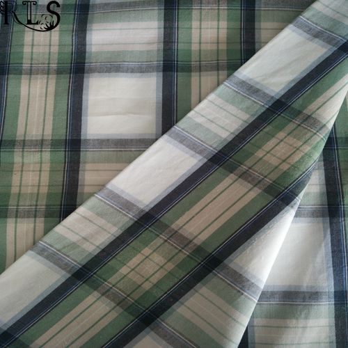 Cotton Poplin Woven Yarn Dyed Fabric for Garments Shirts/Dress Rls40-1po