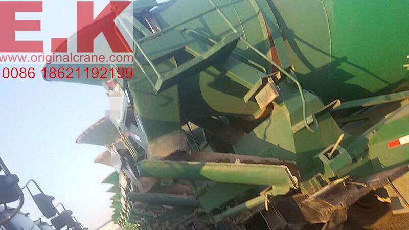 Isuzu 9 Cubic Meters Used Concrete Mixer Truck with Pump (9cbm mixer)