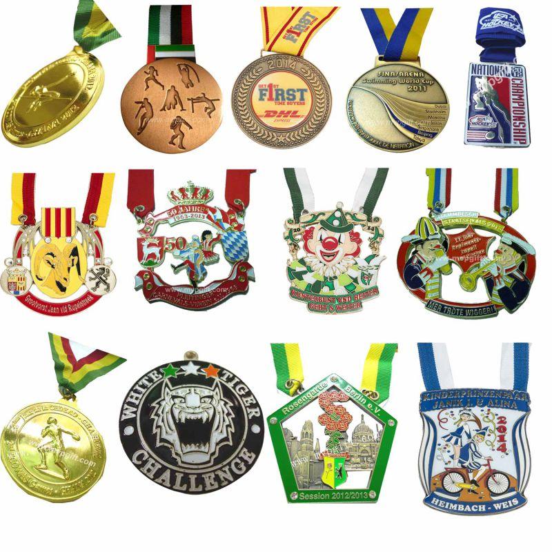 Bespoke Sports Medal with Customer Logo
