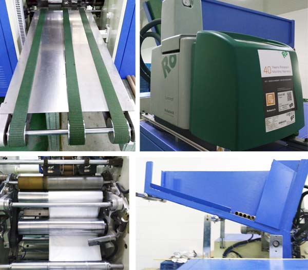 Machine Manufacture of PE / PVC Film Aluminum Foil Roll with Ce/ISO