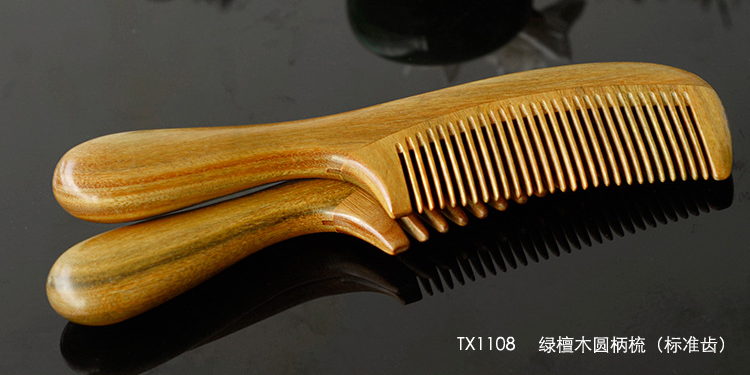 Long Handle Sandalwood Comb