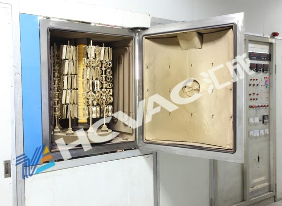 Jewelry PVD Coating Machine, 18k, 24k Real Gold Physical Vapor Deposition System