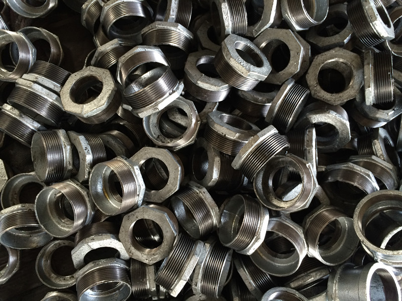 Galvanized Bushing Malleable Iron Pipe Fittings