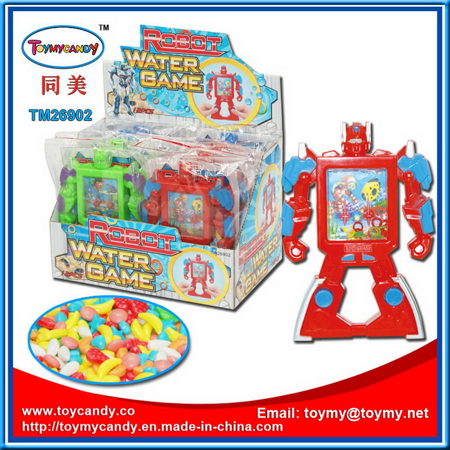 New Design Kid Faviate Robot Water Game Toy with Candy