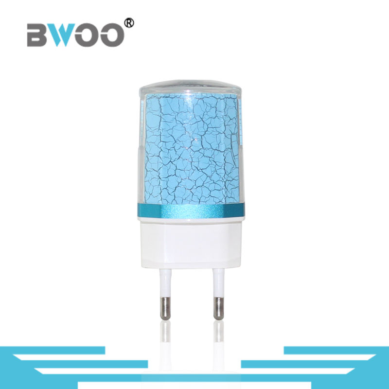 Fashion EU 2 USB Travel Charger for Mobile Phone