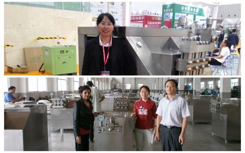 Laboratory High Pressure Homogenizer (GJB30-40)