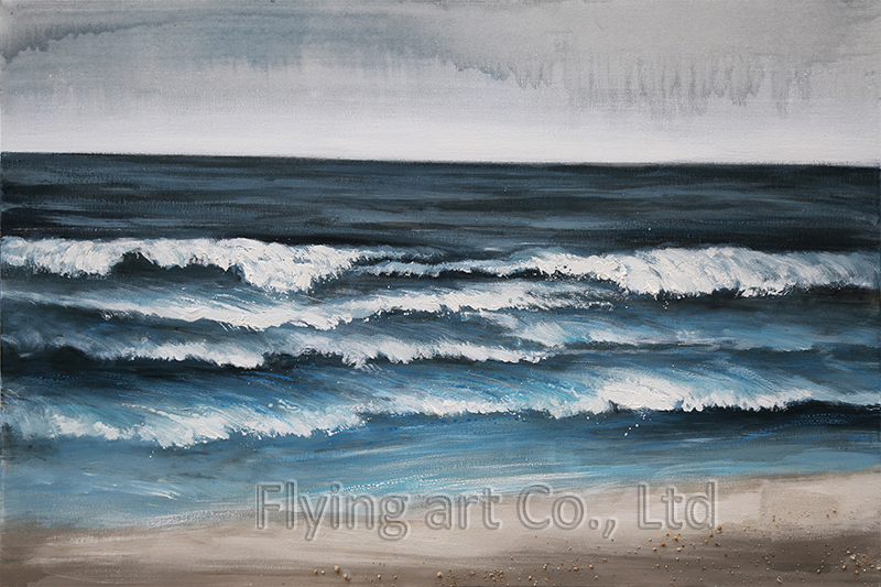 Impressionism Acrylic Seascape Oil Painting