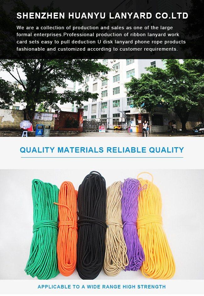 Customized Polyester Double Layer Tubular Flat Strap