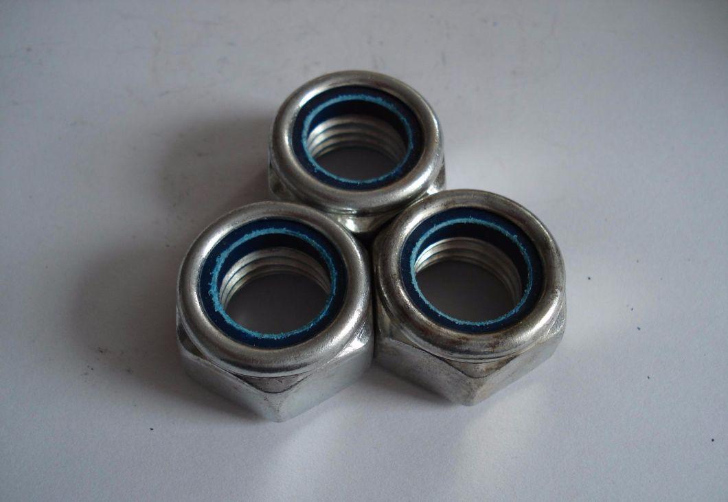 DIN985 Alloy Steel Hex Nylon Lock Nut