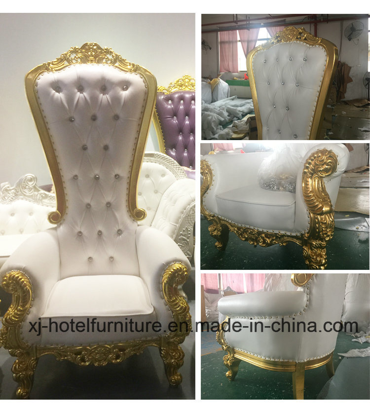 Wedding Furniture Royal Chair Love Seat for Wedding/Banquet/Hotel/Restaurant/Home