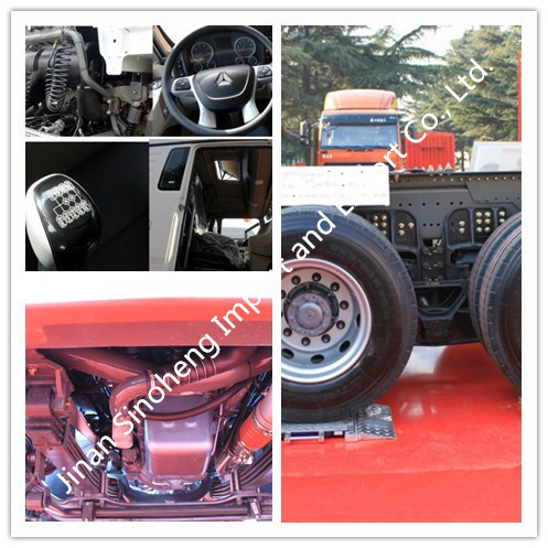 China Dongfeng 315HP Engine Power 6X4 Tractor Truck