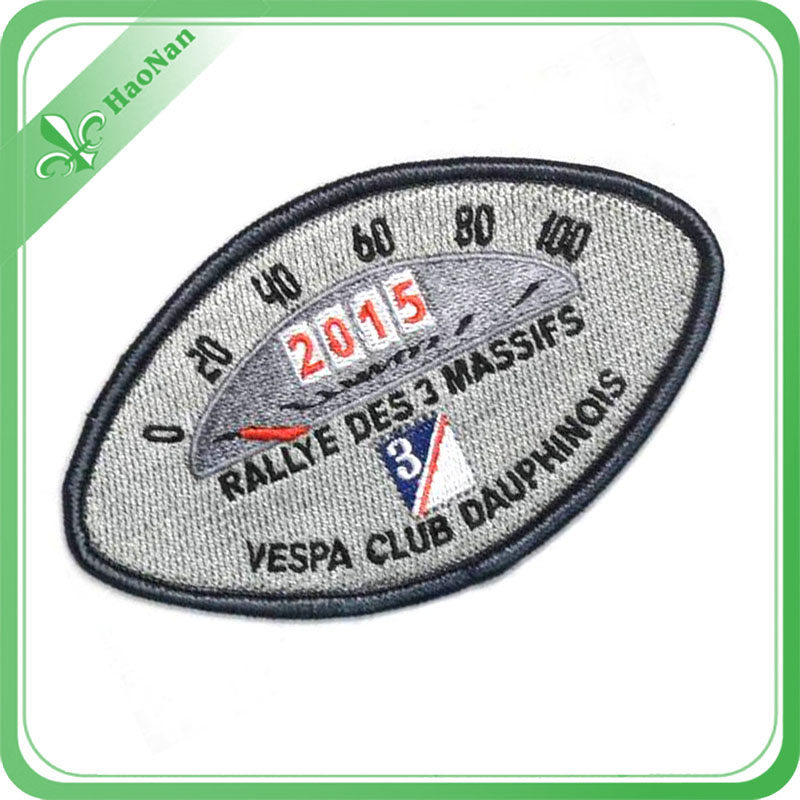 Facrory Custom Made New DIY 3D Embroidery Patch