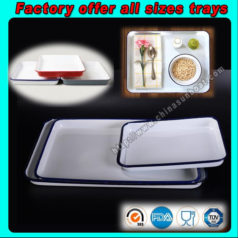 Factory Offer Customized Tray, Baking Tray, Enamel Tray