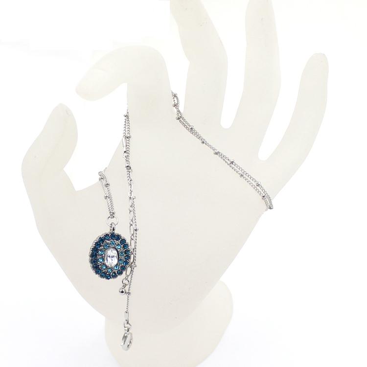 Rhinestones Stones Crystal Pendant Fashion Jewelry Necklace