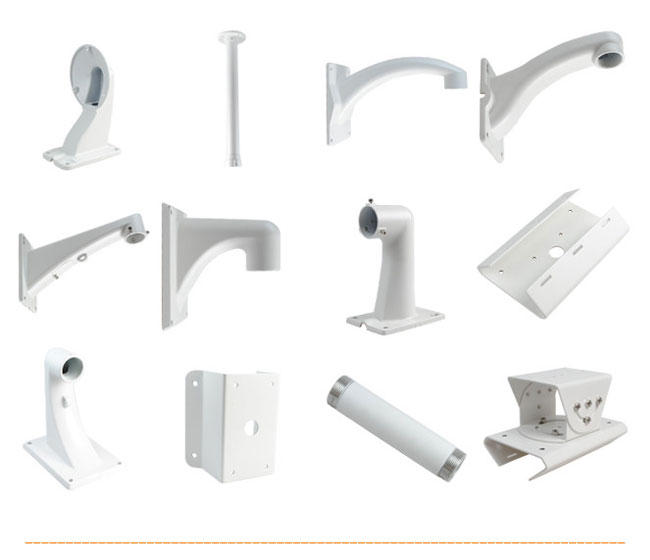 All Kinds of CCTV Camera Bracket Made by Casting Parts