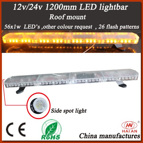 New Design Slim LED Lightbar with High Waterproof (TBD-GC-812L-C)