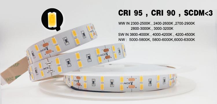 20m/30m Long Constant Current 12V/24V 240 LEDs 2835 Flexi LED Strip Light