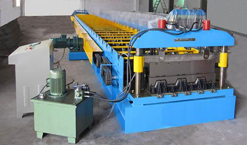 High Strength Steel Deck Floor Roll Forming Machine