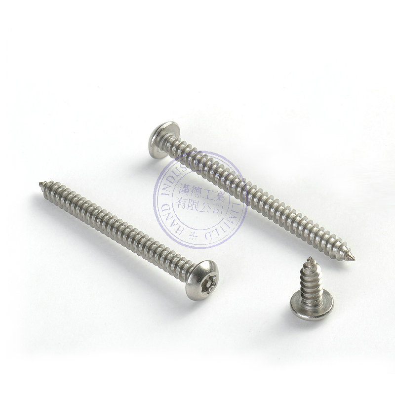 M8 M10 Torx with Pin Button Head Security Tapping Screw