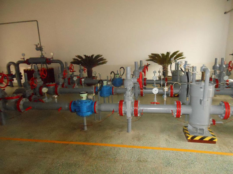 Petroleum Chemical Project of Oil counter flow meter