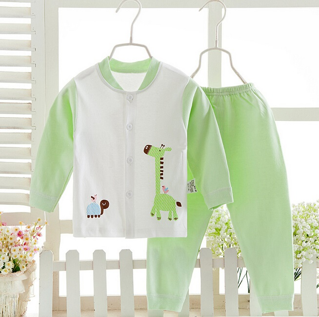 Cotton Baby Underwear Suit with Printing