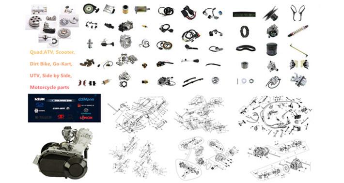 700cc ATV UTV Generator Part Massimo Menards Msu Ys Bennche One Way Bearing Starter