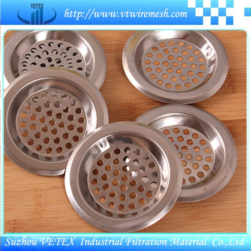 Stainless Steel Filter Disc with Edge