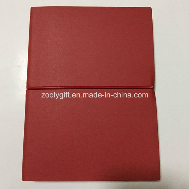 Quality PU Leather A5 Color Paper Notebooks
