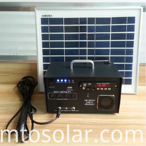 solar-powered radio
