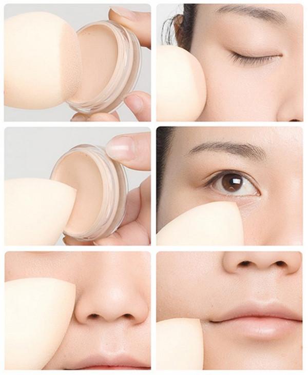 Latex Free Cosmetic Makeup Powder Puff /Latex Free Make up Sponge