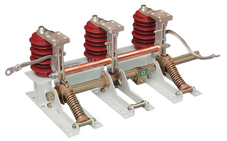 Indoor Use 3 Pole Alternating Current High Voltage Earthing Switch-Jn15-24