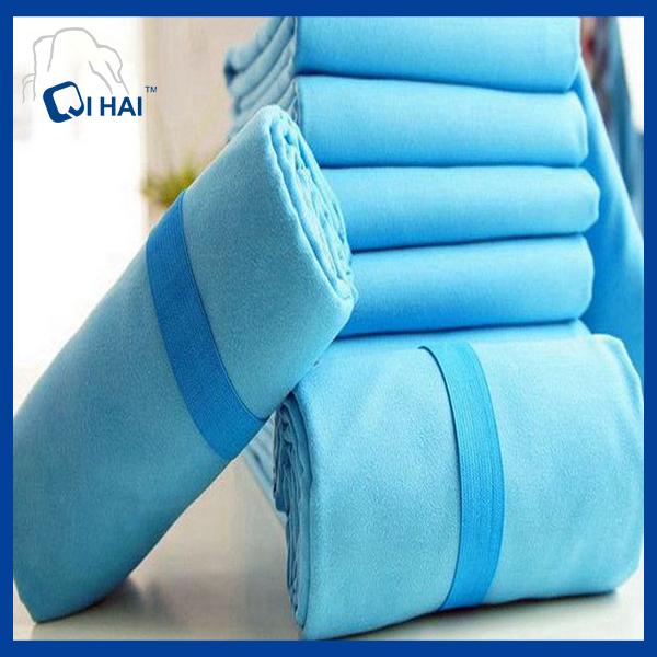 Printed Microfiber Suede Quick Dry Towel (QHE99021)
