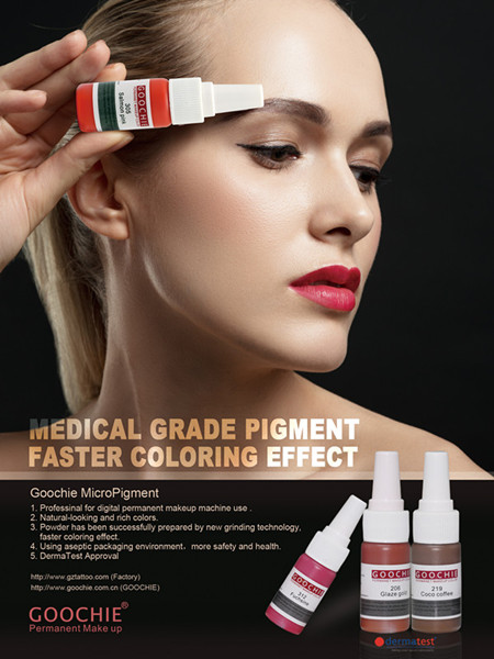 Pure Organic Pigment Eyebrow Pigment Goochie Pigment