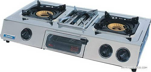Gas Stove with Grill
