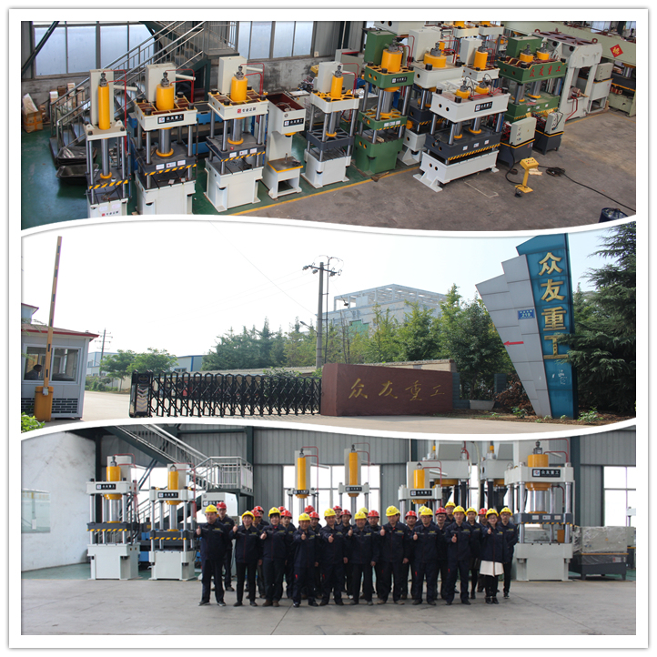 China Supply High Quality Forklift Solid Tyre Press Machine
