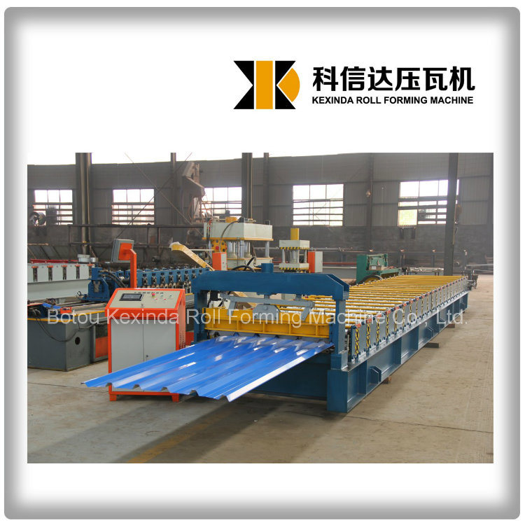 Kxd-1000 Roof Steel Profile Roll Forming Machine