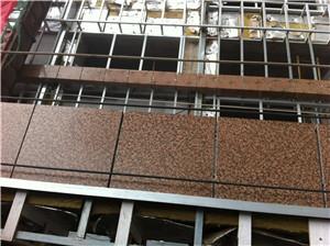 Stone Color Aluminum Honeycomb Panel Toilet Partion