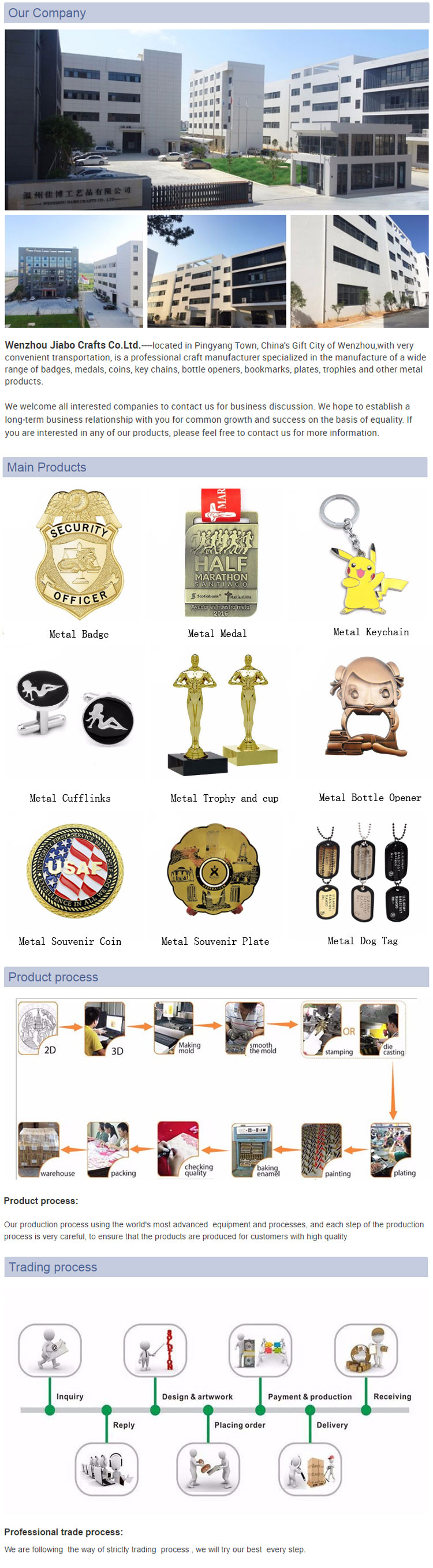 High Quality Zinc Alloy Custom Russia Metal Police Trophies and Medal with Ribbon