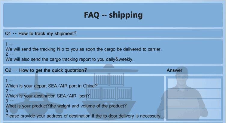 Freight Forwarding Door to Door Service / Sea Freight Shipping Rates China to UK Order